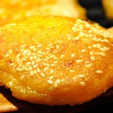 芝麻南瓜餅的做法