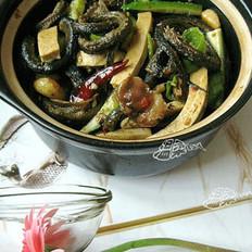 红烧盘鳝一锅鲜的做法