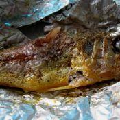 盐焗鸡翅小黄鱼的做法