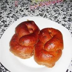 卡士达可可面包