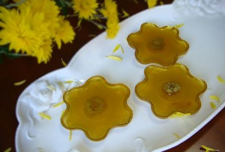 水晶菊花糕的做法