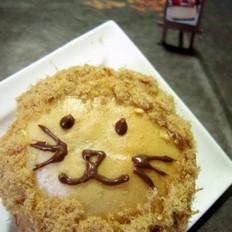 咖喱小狮子面包