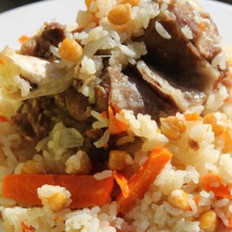 新疆羊肉抓饭