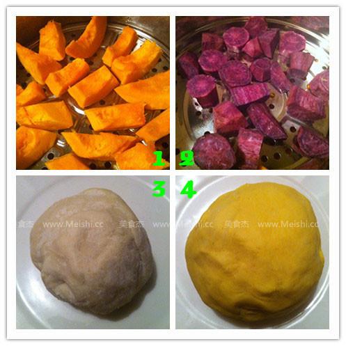 南瓜饼的做法【步骤图】_菜谱_美食杰