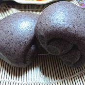 紫米面馒头