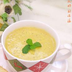 南瓜奶酪浓汤的做法