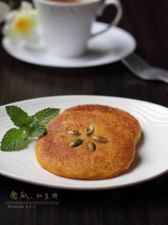 南瓜红豆饼的做法