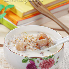 桂圆麦片粥