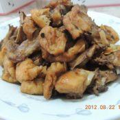 油豆腐炒鸡块