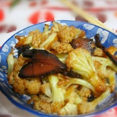 干煸腊肉花菜