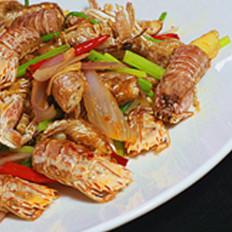 小炒濑尿虾的做法