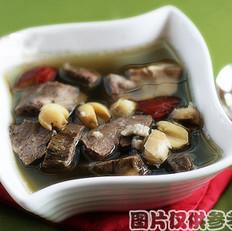 青皮萸肉猪心汤
