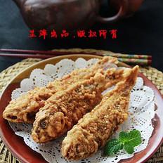 酥炸黄鱼的做法