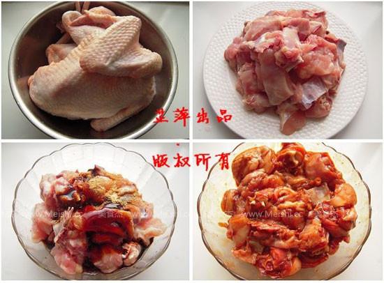 栗子黄焖鸡的做法
