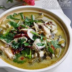 水煮酸菜魚的做法