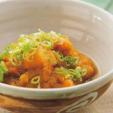 萝卜泥煮鲑鱼的做法