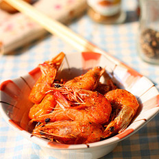 微波烤虾的做法