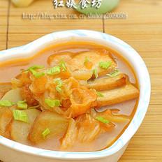 番茄蔬菜暖身汤的做法