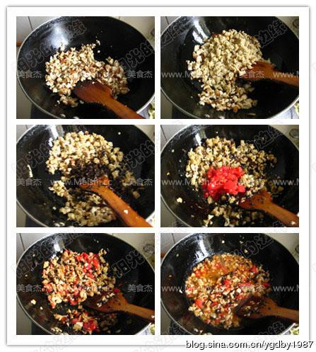香菇木耳烤麸酱