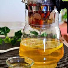 玫瑰茶的做法