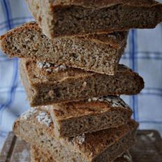 燕麦麸皮全麦面包