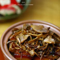 霉干菜焖肉的做法