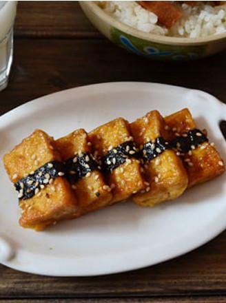 照烧海苔豆腐的做法