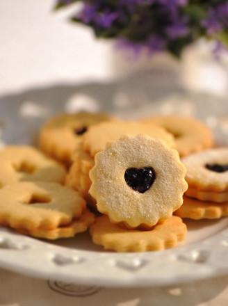蓝莓果酱小甜饼的做法