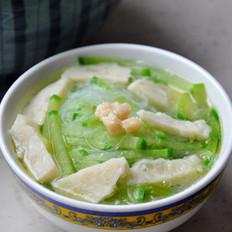 粉丝鱼丸汤 的做法