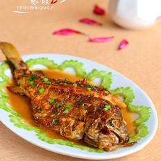 醬燒黃花魚的做法