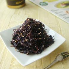 凉拌紫晶藻