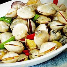 炒蛤蜊的做法