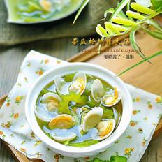 苦瓜蛤蜊清火汤的做法