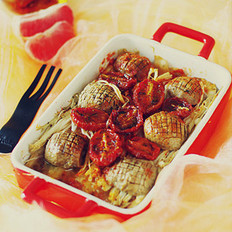 烤杂蔬的做法