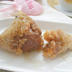 排骨粽子的做法