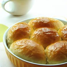 炼奶肉松小面包