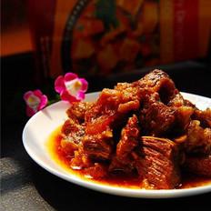 印度紅咖喱牛腩的做法