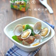蛤蜊黃瓜湯的做法