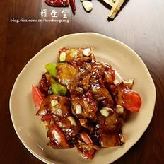 肉烧茄子的做法