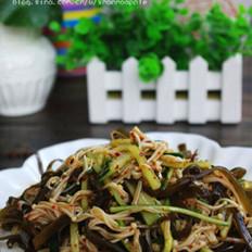 海带拌金针菇的做法