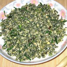 萝卜缨小豆腐