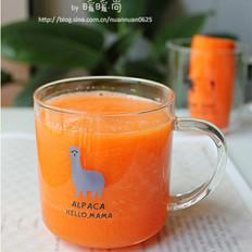 蜂蜜胡萝卜苹果汁的做法