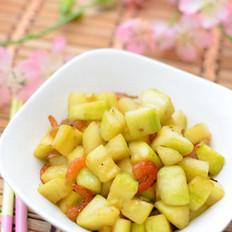 海米炝角瓜的做法