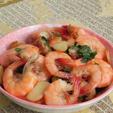 沙姜炒虾的做法