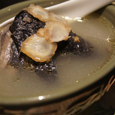 花旗参煲竹丝鸡汤的做法