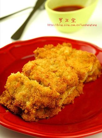 吉列咖喱炸猪排的做法