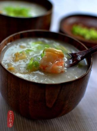 鲜鲍鱼粥的做法大全_鲍鱼鲜虾粥的做法_鲍鱼鲜虾粥怎么做_舞之灵 1_美食杰