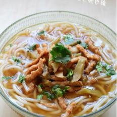 榨菜素肉丝米线