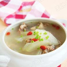 冬瓜鸡架汤的做法