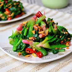 花生拌红根菠菜的做法